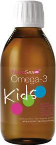 NutraSea Kids Omega-3 Bubble Gum Flavour Liquid 200ml   880860004307