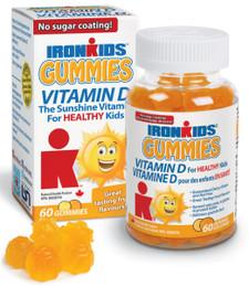 Ironkids Gummies Vitamin D 60 gummies   683702100157