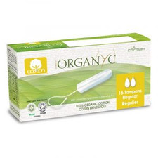 Organyc Regular Tampons Without Applicator | 8016867009928