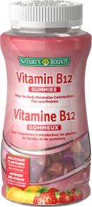 Nature's Bounty Vitamin B12 Gummies | 029537548045