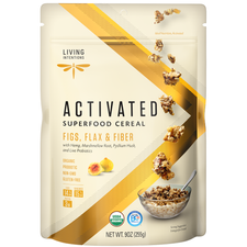 Living Intentions Activated Superfood Cereal Figs Flax and Fiber