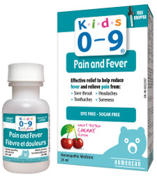 Homeocan Kids 0-9 Pain and Fever | 778159022913