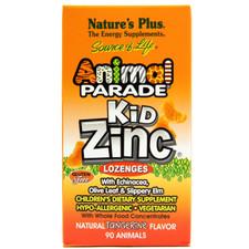 Nature's Plus Animal Parade Kidzinc Lozenges   807205107554