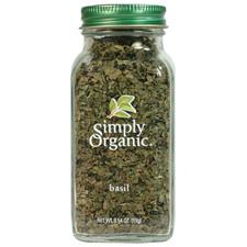 Simply Organic Basil Leaf 15 grams | 089836192080