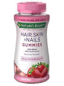 Nature's Bounty Hair Skin and Nails with Biotin Gummies