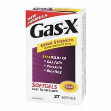 Gas-X Ultra Strength Simethicone 180 mg 45 soft gels   058478103488