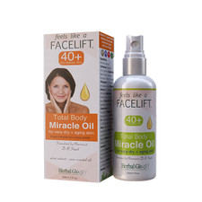Herbal Glo Feels Like a Facelift 40+ Total Body Miracle Oil | 063151600369