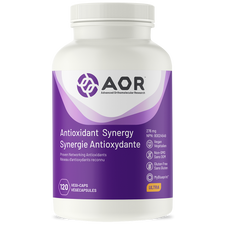 AOR Antioxidant Synergy 120 vcaps | 624917040104