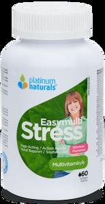 Platinum Naturals Easymulti Stress - Multivitamin for Women 60 Softgels | 773726031282