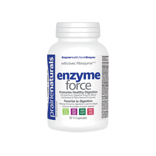 Prairie Naturals Enzyme Force with Fibrazyme Digestive Enzymes 30 V-Capsules |  06795300680