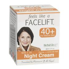 Herbal Glo Feels Like a Facelift 40+ Night Cream - Firm + Lift 60 ml   063151500102