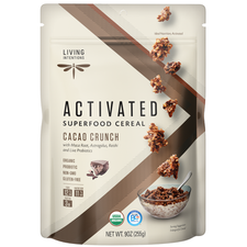 Living Intentions Activated Superfood Cereal Cacao Crunch   813700020014