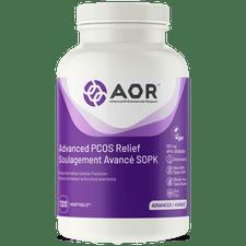 AOR Advanced PCOS Relief 120 V-Softgels | SKU: AOR-1197-001 | UPC: 624917740035