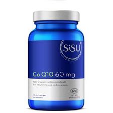 Sisu Co Q10 60mg Soft Gels 120 Softgels | 777672026330