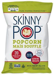 Skinny Pop Popcorn-Original 125 g   085025100411