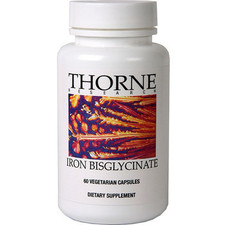 Thorne Research Iron Bisglycinate | 693749003458