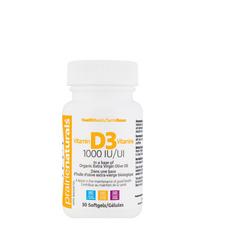 Prairie Naturals Vitamin D3 1000 IU Softgels 30 Softgels | 067953100201