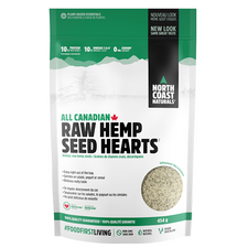North Coast Naturals All Canadian Raw Hemp Seed Hearts | 627933100753