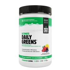 North Coast Naturals Ultimate Daily Greens Mixed Berry & Citrus Flavour 270 grams | 627933101606