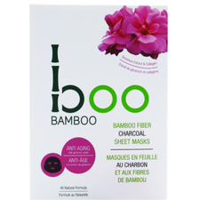 Boo Bamboo Sheet Mask Hydrating | Single 776629100925 | 3 Pack 776629100772