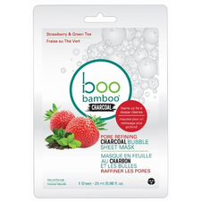 Boo Bamboo Bubble Mask Pore Refining | Single 776629102448 | 12 Pack 776629102445