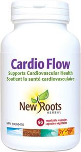 New Roots Herbal Cardio Flow 90 Veg Capsules | 628747111706