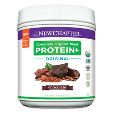 New Chapter Complete Organic Plant Protein+ Original Chocolate |  727783101839