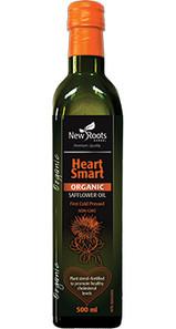 New Roots Herbal Heart Smart Organic Safflower Oil 500mL|628747216258