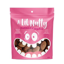 A Lil Nutty Organic Dusted Cocoa Almonds 150g   627843692751