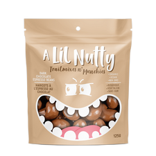 A Lil Nutty Organic Dark Chocolate Espresso Beans 125g | 627843778387