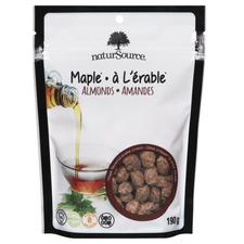 NaturSource Maple Almonds 190g   0681109337843
