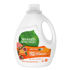 Seventh Generation Laundry Detergent - Fresh Citrus Scent 2.95 L | 732913227792