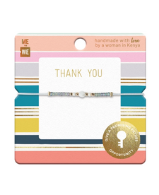 Me to We Wish Bracelets - Celebrate Collection-Thank You | 628499087014