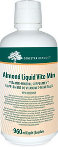 Genestra Almond Liquid Vite Min 960 ml   883196101214