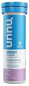 Nuun Hydration Sport-Grape 10 Tablets (53g) | 811660021218