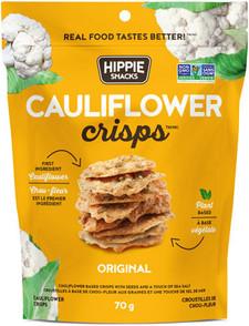 Hippie Snacks Cauliflower Crisps - Original 70 g | 625691140004