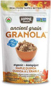 Hippie Snacks Granola - Ancient Grain Maple Quinoa 160 g |625691103047