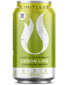 Limitless Lightly Caffeinated Sparkling Water - Lemon Lime 355 ml | 858657006070