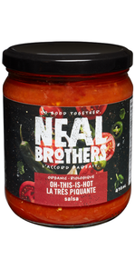 Neal Brothers Salsa - Oh This Is Hot 410 ml |  056932302033