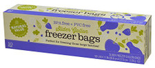 Natural Value Slider Freezer Storage Bags 10 ct | 706173020196