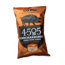 4505 Meats Smokehouse BBQ Chicharrones 70 g | 863006000050