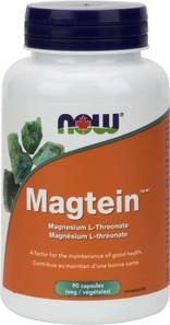 Now Foods Magtein Magnesium L-Threonate 90 Veg Capsules | 733739823908