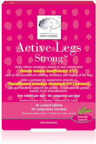 New Nordic Active Legs Strong 30 Tablets | 0741805749113