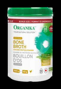 Organika Bone Broth, Original Chicken Powder 300 g + 60 g ( Bonus Size) |  620365082628