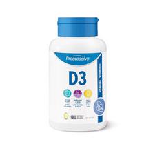 Progressive Vitamin D3 180 Softgels | 837229009244