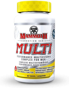 Mammoth Multi 60 Tablets | 625486103368