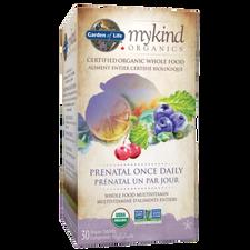 Garden of Life Mykind Organics Prenatal Once Daily 30 Vegan Tablets   886866000084