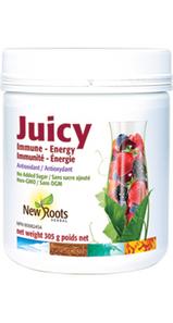 New Roots Herbal Juicy Immune - Energy 305g | 628747015110