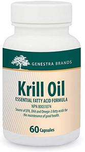 Genestra Brands Krill Oil - Essential Fatty Acid Formula 60 Capsule   883196126224