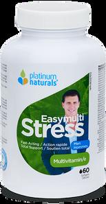 Platinum Naturals Easymulti Stress - Multivitamin for Men 60 Softgels | 773726031275